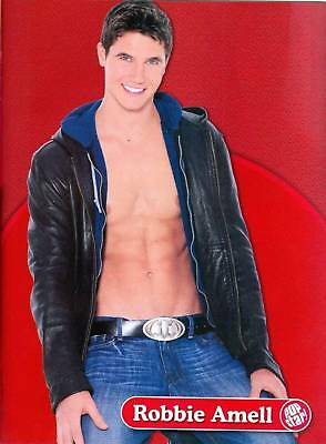 """ROBBIE AMELL - SHIRTLESS - 11"""" x 8"""" - PINUPS - POSTERS"""