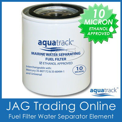 FUEL FILTER ELEMENT -WATER SEPARATING TRAP - Boat/Outboard/Inboard/Mercury Style