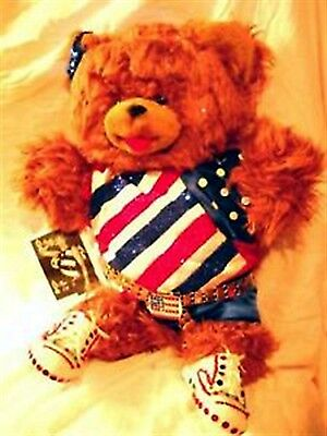 Reba McEntire, Teddy Bear Bear, Singer-Musician, In Stage Outfit