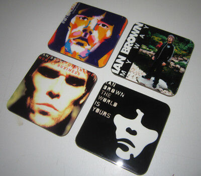 Ian Brown of The Stone Roses Album Cover COASTER Set