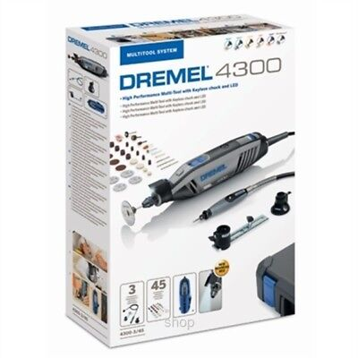 Dremel 4300 3/45 Multi-Tool with Accessories by tyzacktools NOW BUILT IN CHUCK