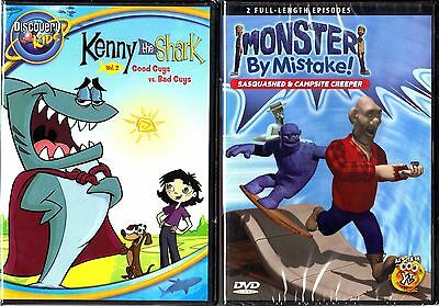 Kenny the Shark,V.2:Good Guys vs.Bad Guys & Monster By Mistake;Sasquatched & C.C