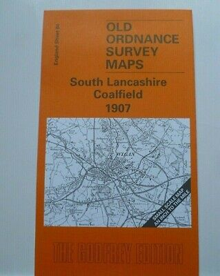 Old Ordnance Survey Map Lancs Wigan St Helens Bryn & Plan of Bryn 1901 Sheet 84