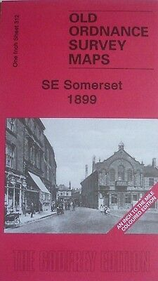 Old  Ordnance Survey Maps SE Somerset & NW Dorset  & Map South Petherton 1899