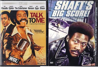 Talk to Me & Shaft's Big Score - 2 Action DVDS