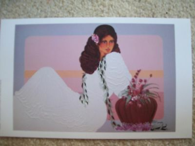 """orchids"" Diana Hansen-Young Hawaiian Picture Print"