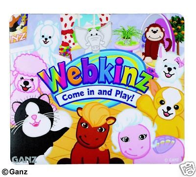 Webkinz Hanging at the Pad Mouse Pad Package New Code