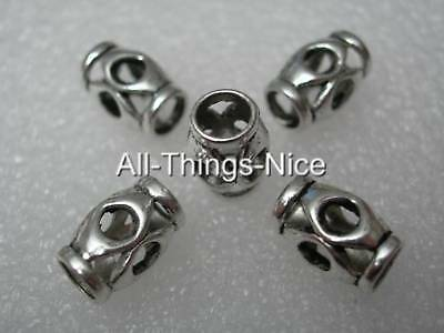 Silver Alloy BIG TUBE 7x12mm Spacer Beads Jewellery Craft Making Findings 40