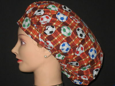 Surgical Scrub Hats/Caps~Soccer Balls!~Sports~