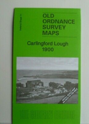Old Ordnance Survey Map Carlingford Lough Kilkeel Warrenpoint1900
