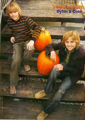 Dylan & Cole Sprouse - The Suite Life - Pinup - Poster - Blond Teen Boy Actor