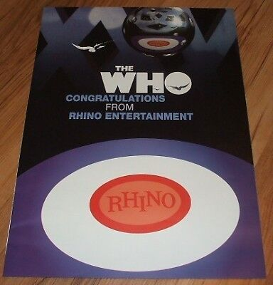 The Who-2006 magazine advert