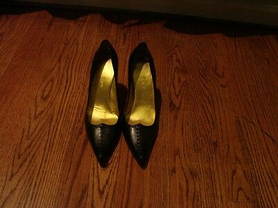 Celine Fabulous Black Leather Shoes - Size 39 French