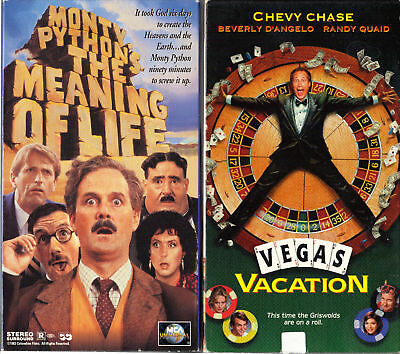 Monty Python's The Meaning of Life & National Lampoon's Vegas Vacation