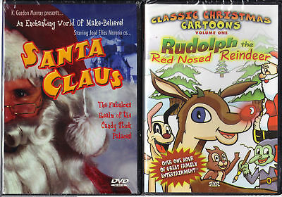 Santa Claus (DVD, 2004) & Classic Christmas Cartoons V1