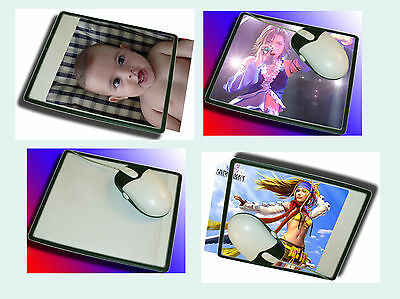 Lot of 5pcs Custom Photo Insert Pic Mousepad Mouse Mat