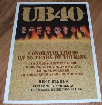 UB40-2005 magazine advert