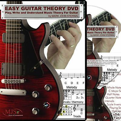 EASY GUITAR THEORY DVD Read Write Play Understand Music