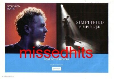 Simply Red-2005 magazine advert
