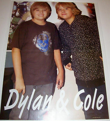 Dylan & Cole Sprouse - Kevin Jonas Brothers - Poster - Blond Teen Boy Actor