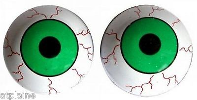 Paire de bouchons de valves TRIK TOPZ EYE BALL GREEN