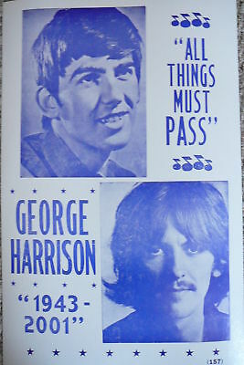 George Harrison-All Things Must Pass Poster
