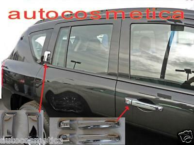 Set Cover Maniglie In Abs Cromo Cromate Jeep Compass