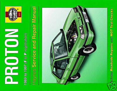 Haynes Manual for Proton (89 - 97) F to P