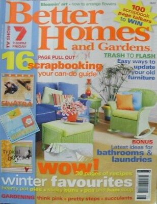 Better Homes and Gardens Magazine - June 2007