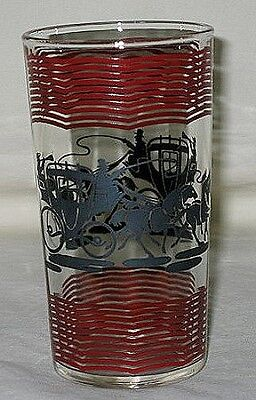 Hazel-Atlas Coach Pattern 8-oz Glass