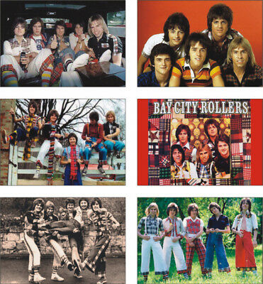 Bay City Rollers Great New POSTCARD Set