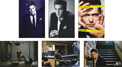 Michael Buble Great New POSTCARD Set