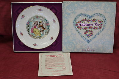 Royal Doulton 1979 Valentine's Day Plate