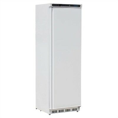 Polar 400 Litre White Single Door Fridge Commercial Refrigerator Catering CD612