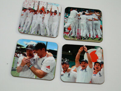 England Ashes 2011 Cricket Drinks Coaster Set