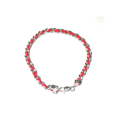 5 pcs Kabbalah Red String Sterling Silver Bracelets