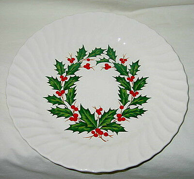 Steubenville Merry Christmas Pattern Dinner Plate