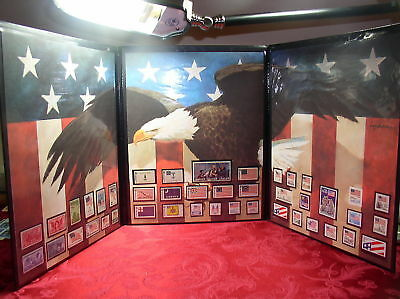 A Celebration of Old Glory Stamps Collection Folio 43 Celebration Stamps Sealed