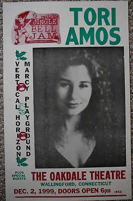Tori Amos w/special guests playing in CT Poster