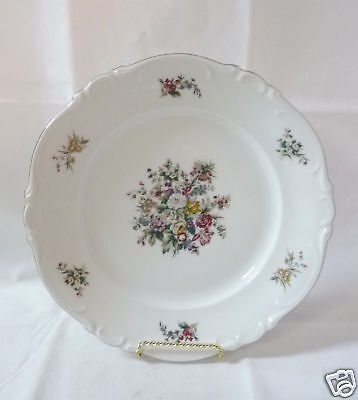 "Crown Bavaria ""bouquet"" Dinner Plate"