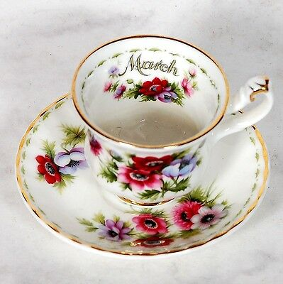 Royal Albert Flower Of The Month Miniature March