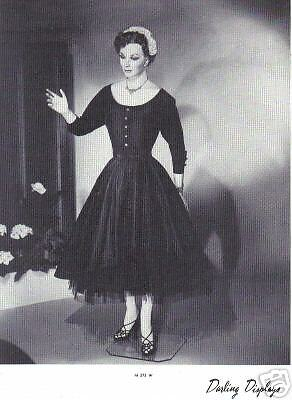 1937 CHARMANT MANNEQUIN Display Photo Advertising M373W