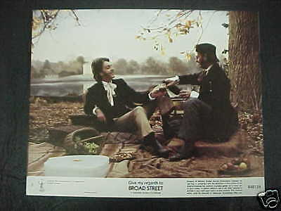 GIVE MY REGARDS TO BROADSTREET, nr mint color set (Paul McCartney)