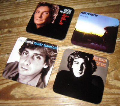 Barry Manilow Album Cover COASTER Set