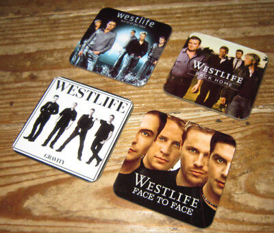 Westlife Album Cover COASTER Set