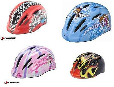 Limar 149 Bike Bicycle Kids Safety Helmet 50-57Cm Choice Of 4 Colours