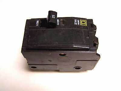 * New... Square D 2 Pole 25 Amp Breaker Qo225Vh ...(22K) ..   L-69C