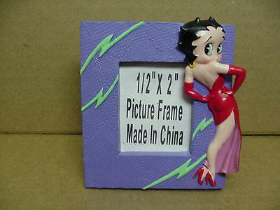 Betty Boop PICTURE FRAME MINI ELEGANT DESIGN  (RETIRED)