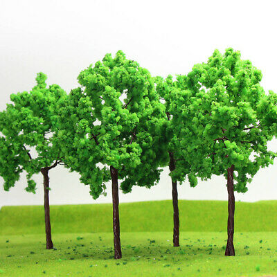 G16090 16pcs Scale Train Layout  Model Trees G O 16cm