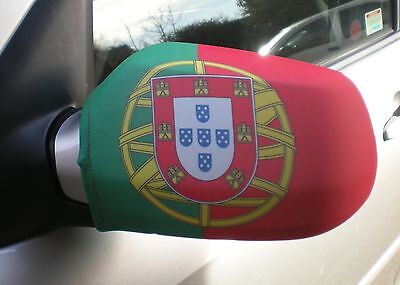 Car Wing Mirror Flags, Covers, Flag-Ups!  - Portugal